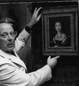 Il Ministro Siviero presenta a Roma il dipinto di Raffaello appena recuperato dal Museo di Boston